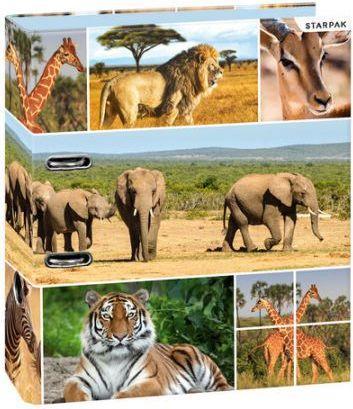 Segregator Starpak A4 Dzikie zwierzęta (STK DZW A4)