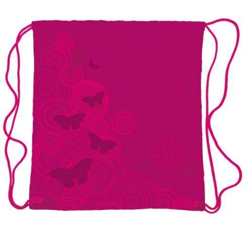 Starpak Worek szkolny Butterfy różowy (WEK BUTE14)