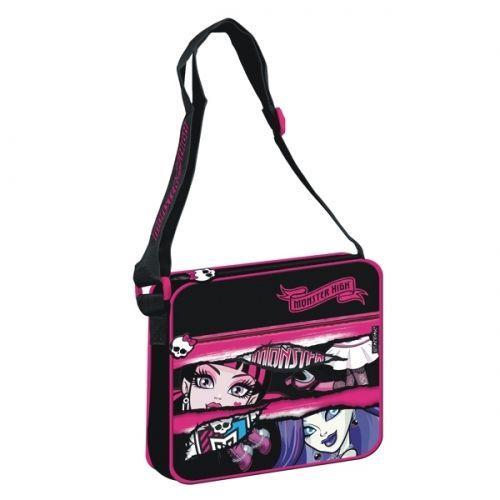 Starpak Torebka na ramię Monster High II czarno-różowa (291195)