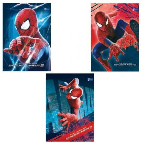 Verte Zeszyt 16k trzy linia Spiderman