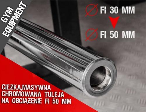 KELTON Tuleja PS3 z fi 30 mm na fi 50 mm GYM EQUIPMENT
