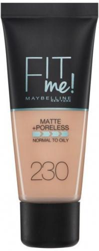 Maybelline  Fit Me Liquid Foundation matujący podkład do twarzy 230 Natural Buff 30ml