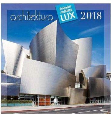 Lucrum Kalendarz rodzinny lux 2018 Architektura (258170)