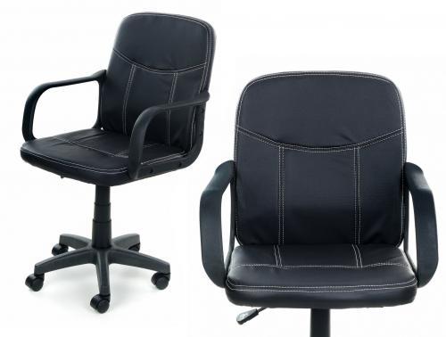 CALVIANO Fotel biurowy MAGNET czarny