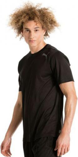 Puma Koszulka męska Essential SS Tee czarna r. L (515185 01)