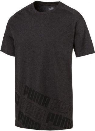 Puma Koszulka męska Rebel 2.0 Tee szara r. S (592506 07)
