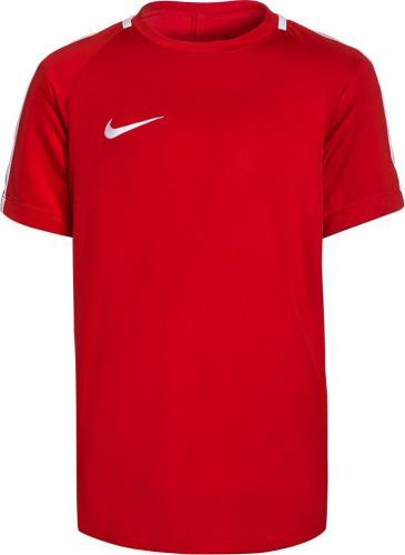 Nike Koszulka juniorska Y Dry Academy Top SS czerwona r. S  (832969 657)
