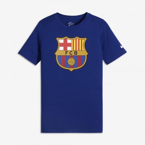 Nike Koszulka FCB NK Tee Evergreen Crest niebieska r. L (898629 455)