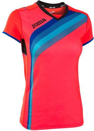 Joma sport Koszulka juniorska Joma Elite V 900207 pomarańczowo-niebieska r. 152 cm (900207)