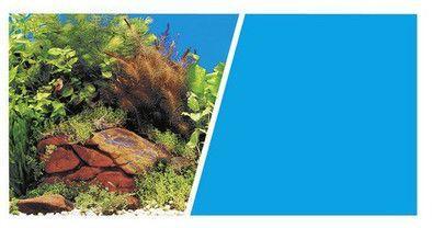 HAGEN Tło Akwariowe 30cm/7.5m Dwustronne rośliny/niebieskie