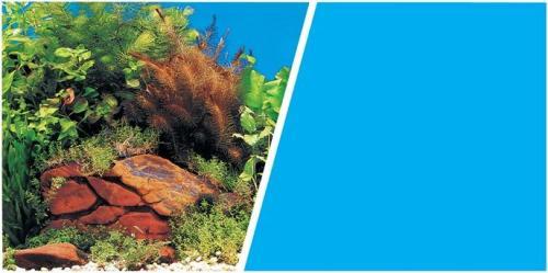 HAGEN Tło do akwarium rośliny/niebieskie 45.7cm/7.6m