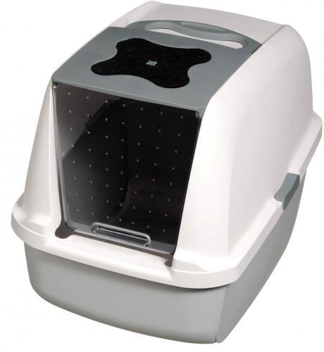 HAGEN Toaleta z filtrem Szara