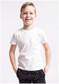 4f Koszulka Junior J4Z17-JTSM100 biała r. 122 cm