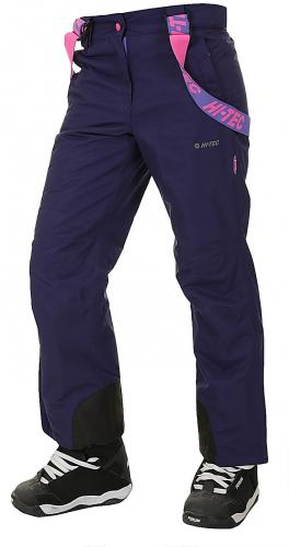 Hi-tec Spodnie narciarskie damskie Lady Draven Astral Aura/Blue Iris/Carmine Rose r. S