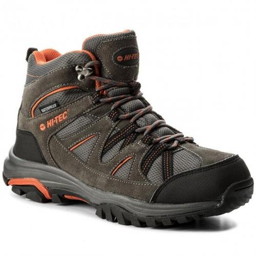 Hi-tec Buty Męskie Raposo Mid Wp Dark Grey/Orange/Light Grey r. 42 (AVSAW17-HT-01)