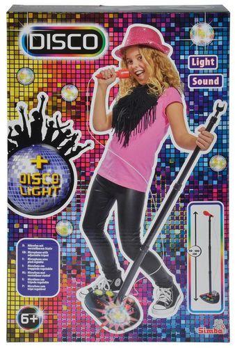Simba MMW Disco Mikrofon na stojaku - 254043
