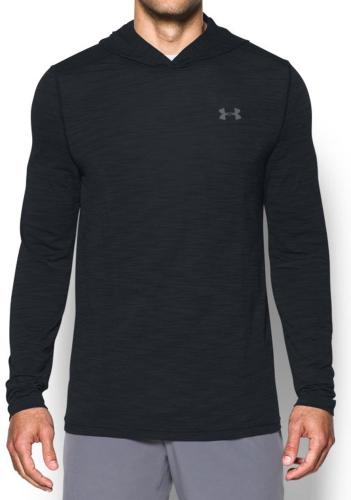 Under Armour Bluza męska Threadborne Seamless Hoodie czarna r. S - (1298912-001)