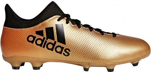Adidas Buty Piłkarskie X 17.3 FG Złote r. 44 2/3 (CP9190)