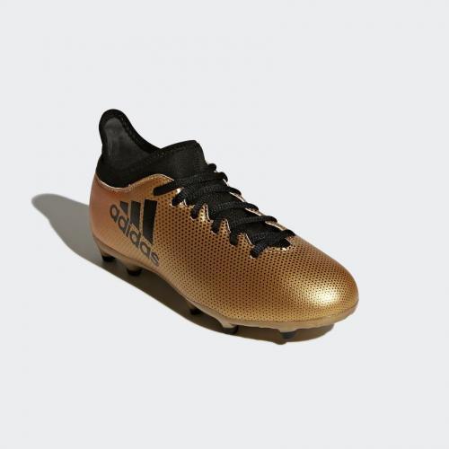 innovative design 78edb 18e69 Adidas Buty piłkarskie X 17.3 FG Jr złote r. 29 (CP8990) w S