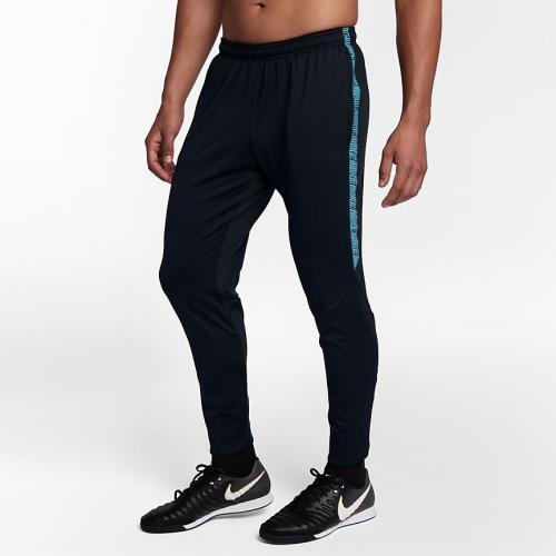 Nike Spodnie męskie M Dry SQD Pant KP czarno-niebieskie r. L (859225 016)