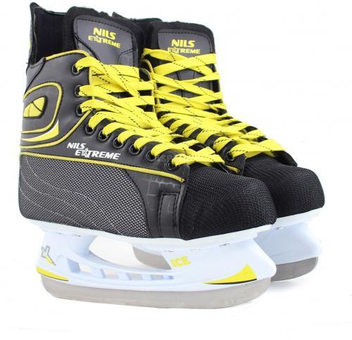 NILS Extreme Łyżwy hokejowe NH8556 S czarne r. 44 (16-86-006)
