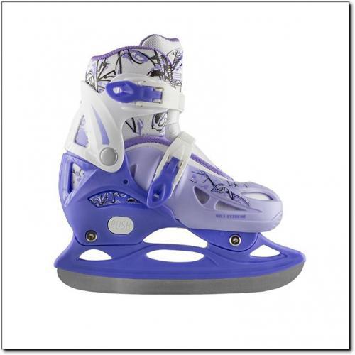 NILS Extreme Łyżwy hokejowe fioletowe r. 35-38 (NH0320A)