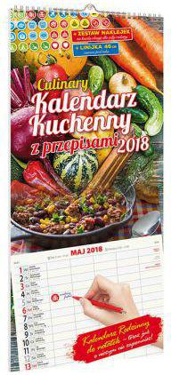 Avanti Kalendarz 2018 KPD-3 Kuchenny