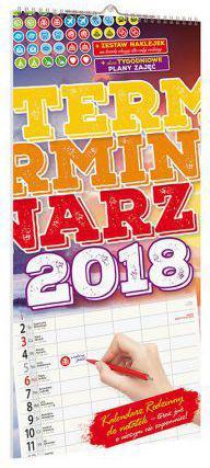 Avanti Kalendarz 2018 KPD-6 Terminarz