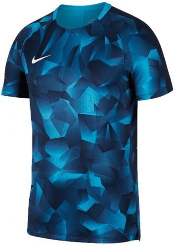 Nike Koszulka męska M NK Dry SQD Top SS CL niebieska r. M (882928 433)