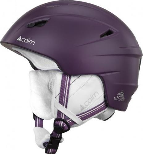 CAIRN  Kask Electron 23 fioletowy r. 55/56