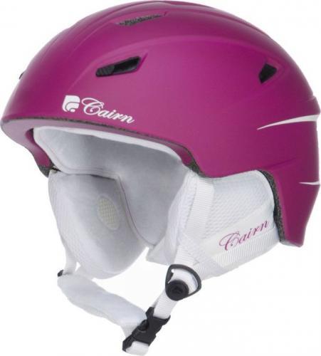CAIRN Kask narciarski ELECTRON 43 różowy r. 55/56