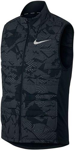 Nike Bezrękawnik męski NK Essentiall Flash Vest czarny r. S (859214 010)