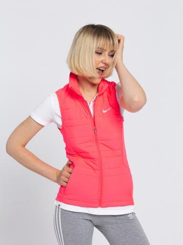 Nike Bezrękawnik damski W NK Essential Vest Filled różowy r. XS (856222 617)