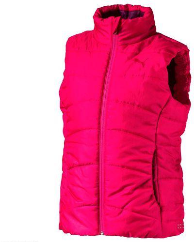Puma Bezrękawnik dziecięcy ESS Padded Vest g Love Potion różowy r. 176 cm (592575 28)