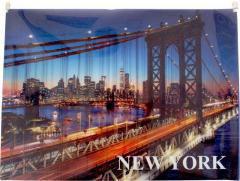 Panta Plast Koperta z nadrukiem zip A4 PP New York (236679)