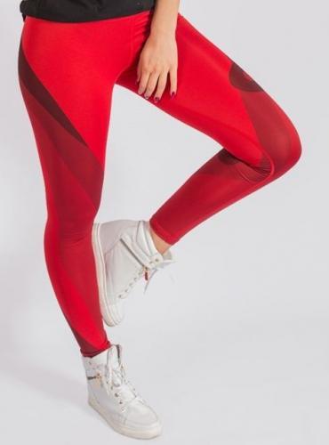 b0cb4c192 KARMA Spodnie damskie Leggings Red Temptation r. XS (74704) w Sklep ...