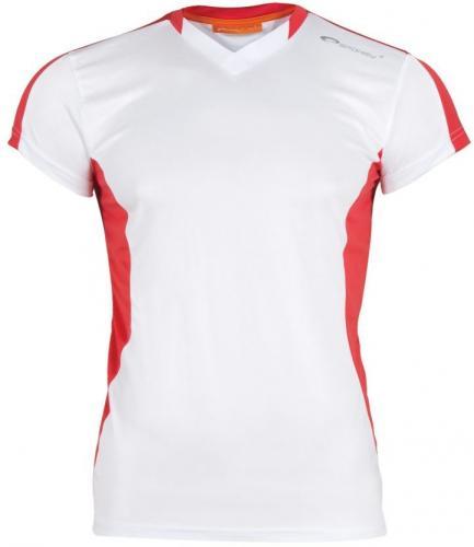 Spokey Koszulka piłkarska TS821-MS16-00X biało-czerwona r. M