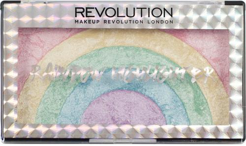 Makeup Revolution  Zestaw rozświetlaczy do twarzy Rainbow