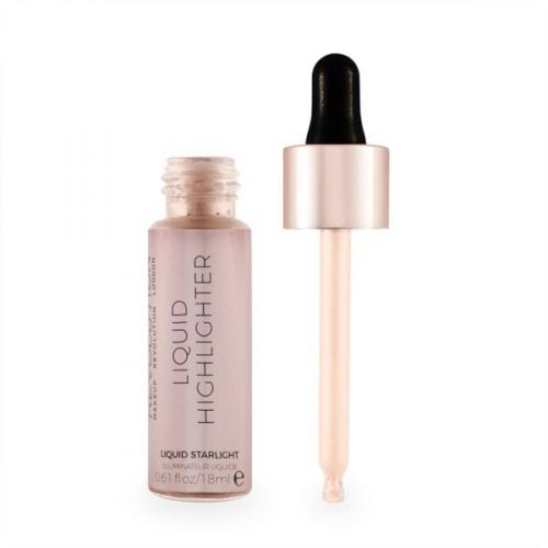 Makeup Revolution Liquid Highlighter Rozświetlacz w płynie  Starlight  18ml