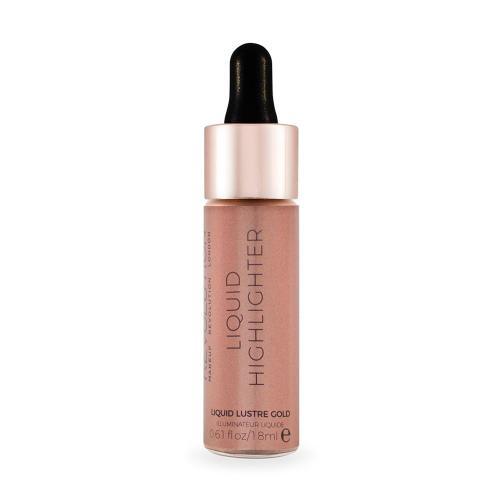 Makeup Revolution  Rozświetlacz w płynie Liquid Highlighter Lustre Gold  18ml