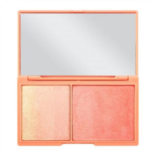 Makeup Revolution I Heart Makeup Chocolate Peach & Glow - Paletka do konturowania twarzy 11g
