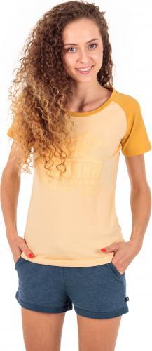 Iguana Koszulka damska BAAKO W Bright Gold Melange/ Golden Fleece Melange r. L