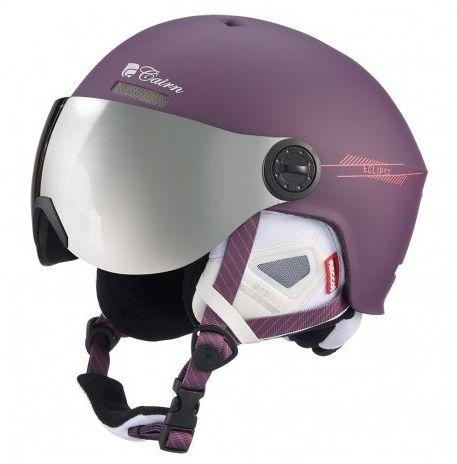 CAIRN Kask Eclipse Rescue fioletowy r. 54/56