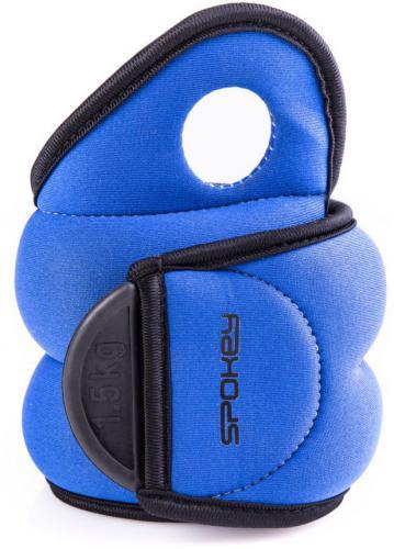Spokey Obciążenia rzep Cross Form IV niebieskie 1.5kg