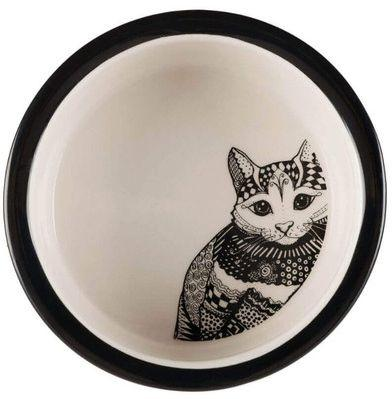 Trixie Miska Ceramiczna Dla Kota w Kropki  0.3l