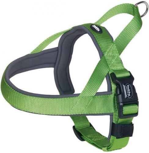 Nobby Szelki dla psa Classic preno zielone r. S-M (38-50cm)