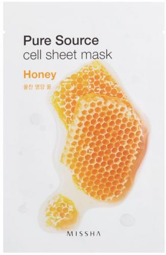 Missha Pure Source Cell Sheet Mask (Honey) 21 g