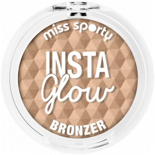 Miss Sporty Bronzer do twarzy Insta Glow Bronzer 001 Sunkissed Blonde 5g