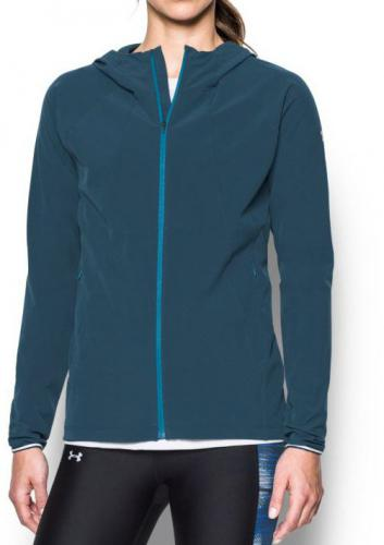 Under Armour Bluza damska Outrun The Storm Jacket niebieska r. S (1304539-918)