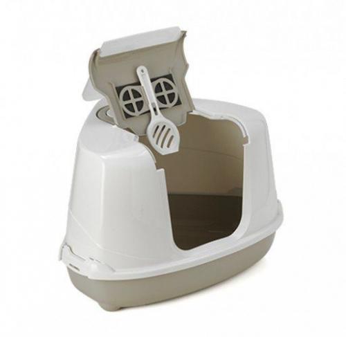 YARRO Moderna Toaleta narożna z filtrem beż